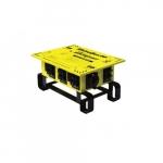 50 Amp RhinoBox E-Series Power Distribution Unit, 240V, Manual GFCI Reset