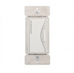 3-Way Z-Wave Dimmer w/ LED Light Display, Multi-Location, White Satin