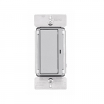 Z-Wave Plus Accessory Switch, Silver Granite