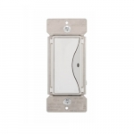 Z-Wave Plus Accessory Switch, White Satin