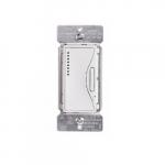 Z-Wave Plus Universal Dimmer w/Presets & LED, Alpine White