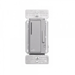 Z-Wave Plus Universal Dimmer w/Presets & LED, Silver Granite