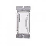 Z-Wave Plus Universal Dimmer w/Presets & LED, White Satin