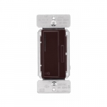 Z-Wave Plus Wireless Accessory Dimmer, Brown