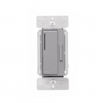 Z-Wave Plus Wireless Accessory Dimmer, Gray