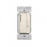Z-Wave Plus Wireless Accessory Dimmer, Light Almond