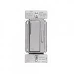 Z-Wave Plus Wireless Accessory Dimmer, Silver Granite