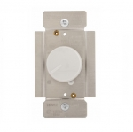1000W Rotary Dimmer w/ Power Failure Memory, Non-Preset, White