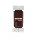 600W Slide AL Series Dimmer, Brown