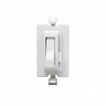 Color Change Faceplate for Toggle AL Series Dimmer, White