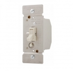 5 Amp Fan Speed Controller, Toggle, Non-Preset, Light Almond