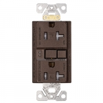 20 Amp Tamper Resistant Duplex GFCI Receptacle Outlet, Oil Rubbed Bronze