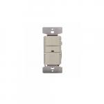 2200W Vacancy Sensor & Dimmer w/LED Indicator, Ivory