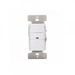 2200W Vacancy Sensor & Dimmer w/LED Indicator, White