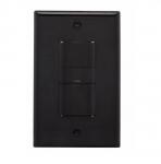 600W Sensor Switch, Vacancy, 450 sq ft. Range, Black