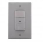 600W Sensor Switch, Vacancy, 450 sq ft. Range, Grey