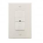 600W Sensor Switch, Vacancy, 450 sq ft. Range, Light Almond