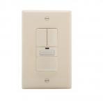 1000W Dual Switch w/ Nightlight, Vacancy, 1000 sq ft. Range, Almond