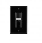 1000W Dual Switch w/ Nightlight, Vacancy, 1000 sq ft. Range, Black