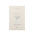 1000W Sensor Switch w/ Nightlight, Vacancy, 1000 sq ft. Range, Almond