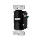 1000W Sensor Switch w/ Nightlight, Vacancy, 1000 sq ft. Range, Black