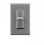 1000W Sensor Switch w/ Nightlight, Vacancy, 1000 sq ft. Range, Grey
