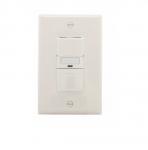 1000W Sensor Switch w/ Nightlight, Vacancy, 1000 sq ft. Range, Light Almond