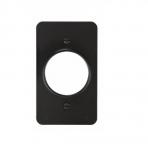 """Non-Metallic Outlet Box, Portable, 1.38"""",Single, Black"""