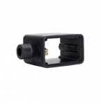 Non-Metallic Outlet Box, Portable, Standard Size, Black