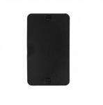 Non-Metallic Outlet Box w/ Lid, Blank, Portable, Black