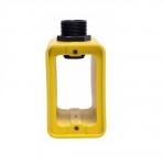 Outlet Box w/ Extra Depth, Portable, Duplex, Yellow