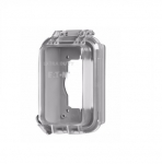 1-Gang Weather Protective Cover, Extra Duty, Vertical, Grey