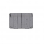Duplex Receptacle Outlet Box Cover, Weatherproof