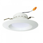 """13W 4"""" LED Recessed Downlight w/ Junction Box, Dimmable, 2700K"""