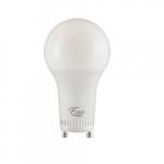 14W LED A19 Bulb, GU24, 1600 lm, 120V-277V, 3000K