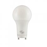 14W LED A19 Bulb, GU24, 1600 lm, 120V-277V, 2700K