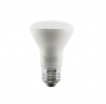5.5W LED BR20 Bulb, Dimmable, E26, 525 lm, 120V, 2700K