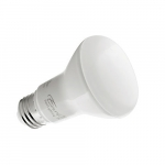 5.5W LED BR20 Bulb, Dimmable, E26, 525 lm, 120V, 3000K