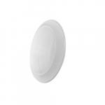 7-in 11.5W LED Flush Mount Ceiling Light w/ Frosted Lens, 800 lm, 120V, 3000K, White