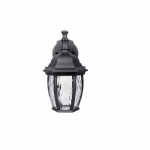 6.4W LED Wall Lantern, 450 lm, 3000K, Black