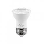 7W LED PAR16 Bulb, Dimmable, 40 Degree Beam, E26, 500 lm, 120V, 3000K