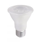 5.5W LED PAR20 Bulb, Dimmable, E26, 500 lm, 120V, 2700K