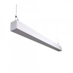 50W 4-ft LED Utility Light, Dimmable, 100V-277V line, CCT Selectable