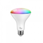 10W LED BR30 Smart Bulb w/ Wi-fi, Dimmable, E26, 650 lm, 120V, Multicolor Selectable CCT
