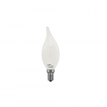 4.5W BA10 LED Filament Bulb, Dimmable, E12, 450 lm, 2700K, Frosted