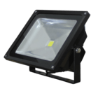 50 Watt Black LED Floodlight, 4000K