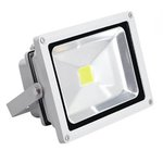 28 Watt White LED Floodlight, 4000K
