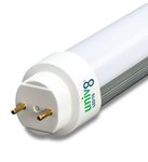 4100K 100-277V 8W 2ft Ballast Compatible T8 LED Bulb