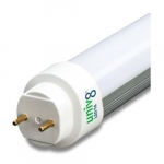 15W 4ft T8 LED Tube, Ballast Compatible, Dual/Single End, 5000K