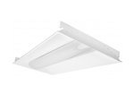 2X4 50W LED Troffer, 7300 lumens, Dimmable, 5000K, DLC 4.0